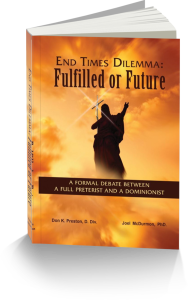 Ed Times Dilemma Fulfilled or Future-- With a discussion of the Sabbath