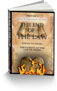 The time of reformation- the Passing of the Law of Moses