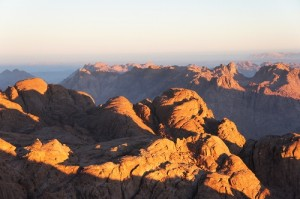 Ten Commandments from Mt. Sinai End of Torah