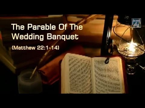 Jesus' parable of the wedding banquet