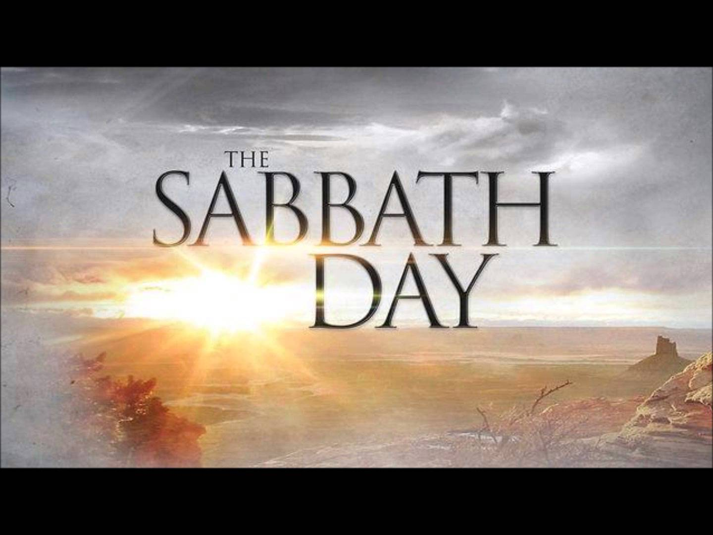 sabbath day - Commandment or Fulfilled?