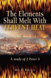"What were the ""elements"" that were to perish?"