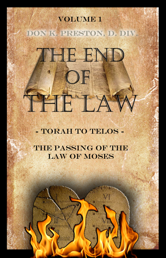 This book is an indepth discussion of the passing of the law of Moses