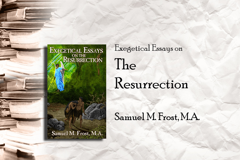 essays on the resurrection of jesus Why the resurrection matters to  the most conclusive proof for the resurrection of jesus christ is that he is living within believers today in all of his.