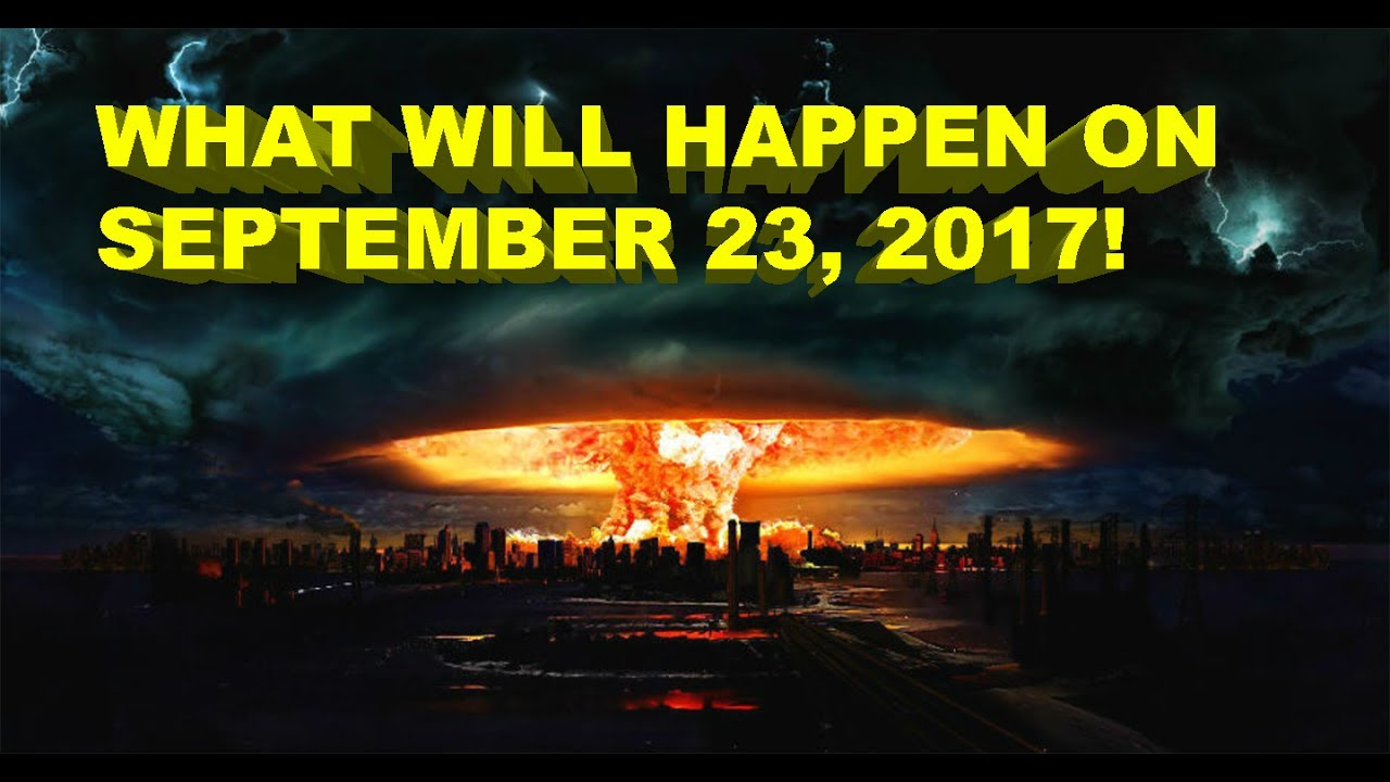 Is September 23, 2017 The End of the World?– Edit– Post September 23